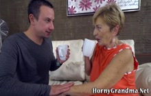 Mature gilf gets prune licked