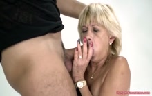 Big Booty Granny Loves Getting Fucked Hard