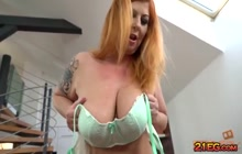 Tammy Jean ends with cum in mouth after fucking