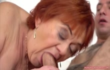 Faded Ginger Bitch Fucked From Behind
